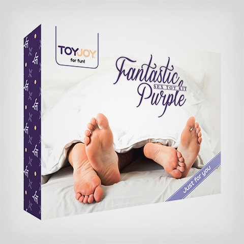 Toyjoy coffret sextoys pour couples Fantastic Purple Sex Toy Kit