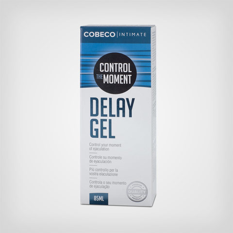 Gel retardant Intimate Delay Gel men, Gel intime pour homme by Cobeco