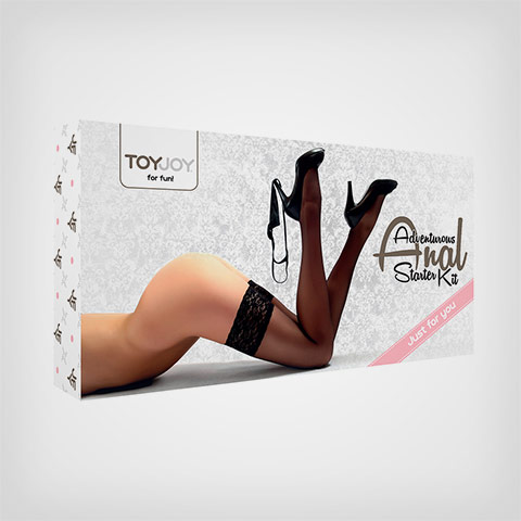 Coffret Sextoys couple Adventurous Anal Starter Kit Toyjoy