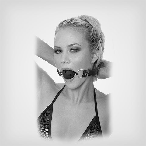 Baillon boule Breath Ball Gag Accessoire SM Fetish Fantasy