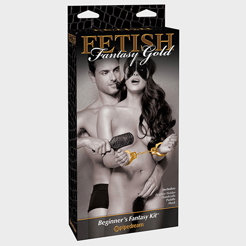 Fetish Sextoys pour couple Ff Gold Beginners Fantasy Kit