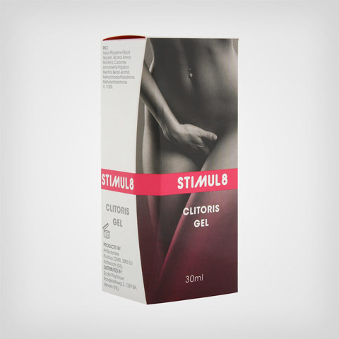 Gel stimulant clitoris by Stimul8 – Accessoire intime Clitoris gel