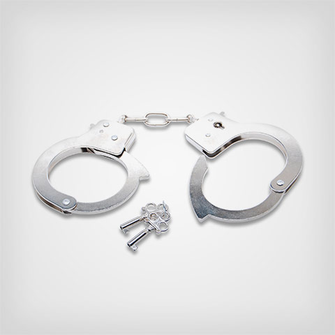 Fetish Fantasy Menottes et liens Ff Official Handcuffs Metal
