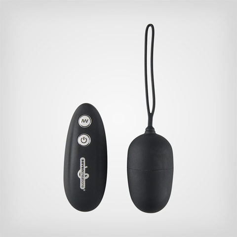 Œuf vibrant pour couple Remote vibr. Egg by Seven Creations