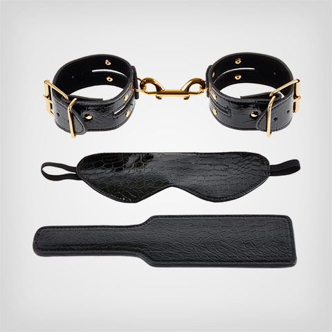 Fetish Fantasy Gold Kit de bondage Ff Gold Fantasy Bondage Kit