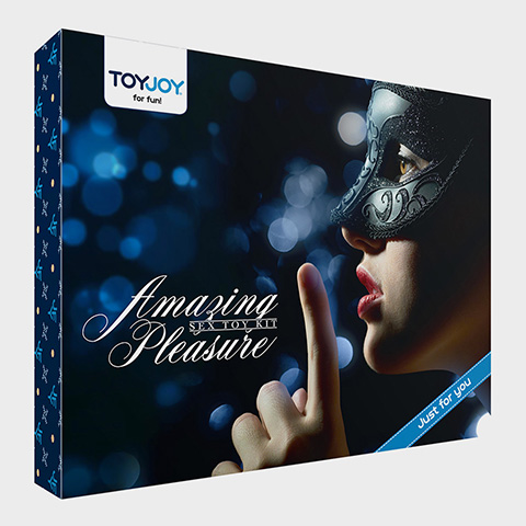 Toyjoy Coffret sextoys pour couple Amazing Pleasure Sextoy Kit