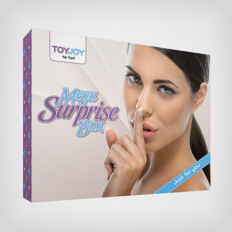 Coffret de Sextoys SM pour couple Mega Surprise Box Toyjoy