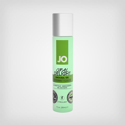 Lubrifiant à base d'eau Oral Delight menthe - Gel lubrifiant H/F by JO