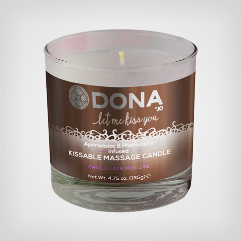 Massage à la bougie Kissable Massage Candle– Bougie de massage choco
